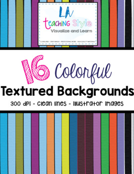 COLORFUL TEXTURED BACKGROUNDS CLIPART - PERSONAL AND COMMERCIAL