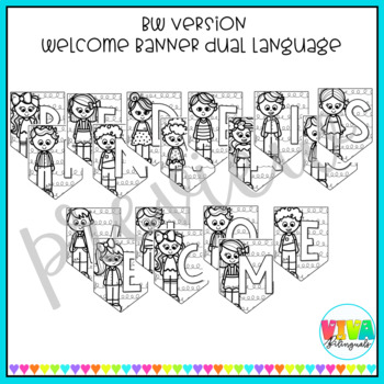 COLORFUL WELCOME BANNER
