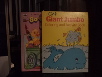 COLORING  AND ACTIVITY BOOKS      (Set of 2)