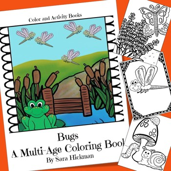 Bugs and Insects Coloring Pages