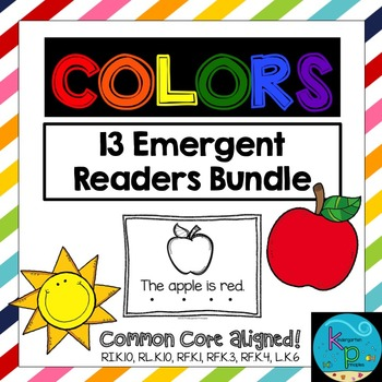 COLORS: 13 Emergent Readers About Colors