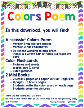COLORS Poem