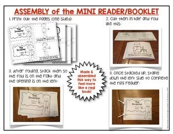 Teaching Colors: BIG Bundle {11 MINI Readers} Building Reading Workshop Stamina