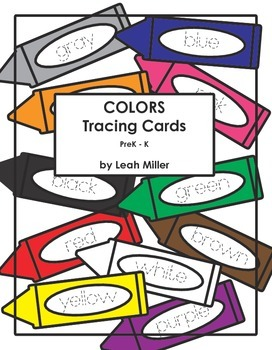 COLORS Tracing Cards