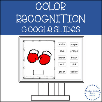 COLORS WITH WINTER CLOTHING GOOGLE SLIDES