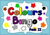 COLOURS BINGO GAME (British Vocabulary)