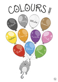 COLOURS POSTER - (Different sizes and worksheet)