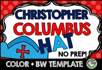 COLUMBUS DAY CRAFTS (CHRISTOPHER COLUMBUS HAT TEMPLATES) H