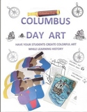 COLUMBUS DAY ART AND ACTIVITIES