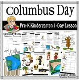 COLUMBUS DAY - PRE-K KINDERGARTEN  1-DAY LESSON