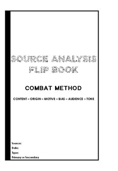 COMBAT method history source analysis flipbook