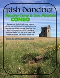 COMBINED Irish Dancing Nonfiction and Irish Dancer Fun Activities