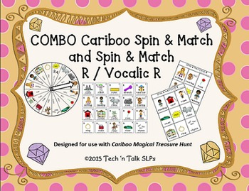 COMBO Cariboo Spin & Match and Spin & Match R / Vocalic R