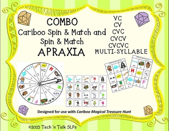 COMBO Cariboo Spin & Match and Spin & Match for APRAXIA