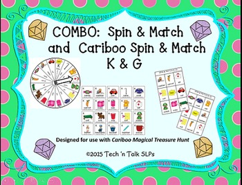 COMBO Cariboo Spin & Match and Spin & Match for Articulation K G