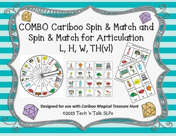 COMBO Cariboo Spin & Match and Spin & Match for Articulation L, H, W, TH(vl)