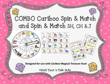 COMBO Cariboo Spin & Match and Spin & Match for Articulation SH, CH & J