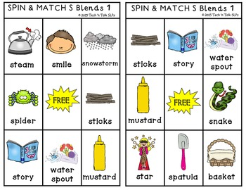 COMBO Cariboo Spin & Match and Spin & Match for Articulation S,R,L Blends