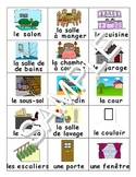 Rooms of the House / La Maison FRENCH Workbook & Games Package