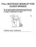Halloween FOREIGN LANGUAGE Workbooks & Games pack Spanish,Italian,German