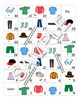 Clothing / Vetements FRENCH Workbook & Games Pack