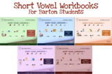 COMBO SHORT VOWEL eWORKBOOKS 1 TO 5 - FOR BARTON STUDENTS