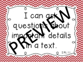 "COMBO Second Grade All Subjects Common Core & NC ""I Can"" Standards Chevron Theme"
