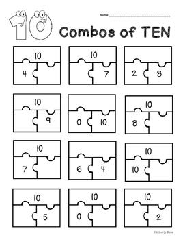 combos of   addition practice worksheet  part part whole originaljpg