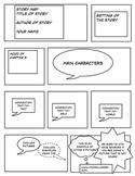 COMIC LIFE STORY MAP