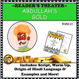 COMICAL READER'S THEATER SCRIPT: ABDULLAH'S GOLD DISTANCE LEARNING