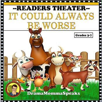 COMICAL READERS THEATER SCRIPT: IT COULD ALWAYS BE WORSE DISTANCE LEARNING
