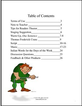 COMICAL READER'S THEATER SCRIPT: SATURDAY SUNDAY AND MONDAY DISTANCE LEARNING
