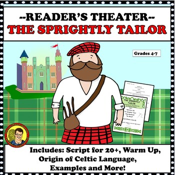 ST. PATRICK'S DAY: COMICAL READERS THEATER SCRIPT- THE SPRIGHTLY TAILOR