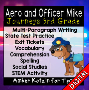 Aero and Officer Mike Ultimate Pack: Third Grade Journeys