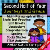 COMING SOON - HALF YEAR Units 4-6 Ultimate Bundle: Third Grade Journeys