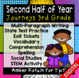 HALF YEAR Units 4-6 Ultimate Bundle: Third Grade Journeys