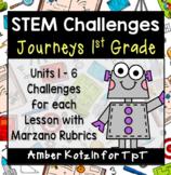 Journeys 1st Grade: 30 STEM Challenges