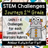 Journeys 2nd Grade: 30 STEM Challenges
