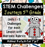 COMING SOON ~ Journeys 5th Grade: 25 STEM Challenges