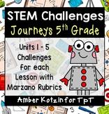 Journeys 5th Grade: 25 STEM Challenges