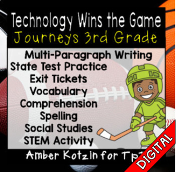 COMING SOON - Technology Wins the Game Ultimate Bundle: Third Grade Journeys