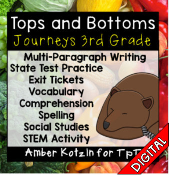 Tops and Bottoms Ultimate Pack: Third Grade Journeys