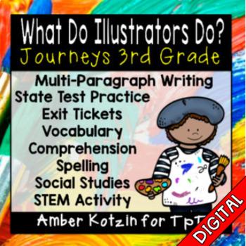 What Do Illustrators Do? Ultimate Pack: Third Grade Journeys