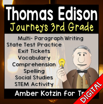 Young Thomas Edison Ultimate Pack: Third Grade Journeys