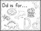 Zoo Phonics Alphabet Sounds Coloring Book Worksheets with Rainbow Writing