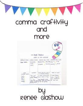 COMMA CRAFTIVITY AND MORE