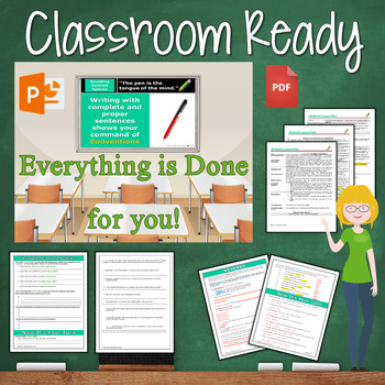 COMMA SPLICES - Writing Fluency & Grammar - Middle School