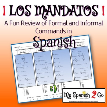 COMMANDS:  A fun review of formal and informal commands in Spanish