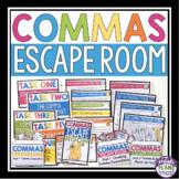 COMMAS ESCAPE ROOM ACTIVITY
