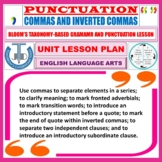 COMMAS LESSON PLAN AND RESOURCES